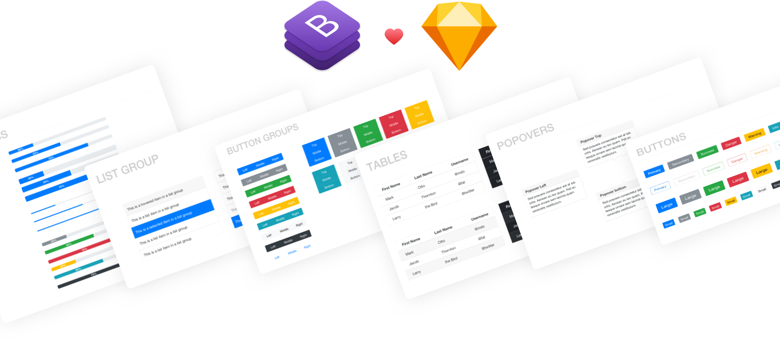 Bootsketch | The #1 Bootstrap UI Kit for Sketch 🎉